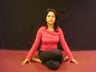 Yoga Cow Pose to Release Tension Open
