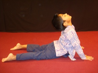 Cobra Yoga Pose for Kids